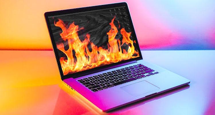دلایل داغ شدن لپ تاپ