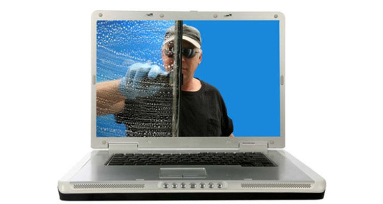 آموزش تمیز کردن لپ تاپ