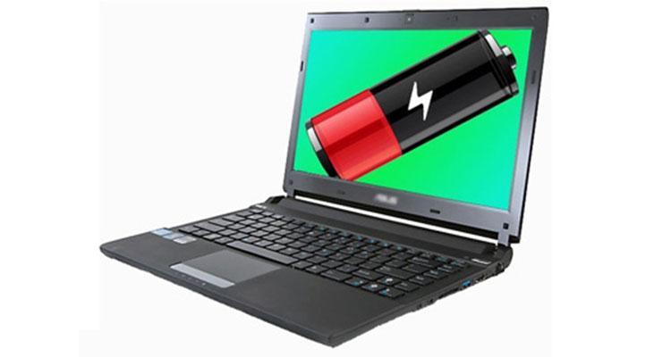 تست سلامت باتری لپ تاپ